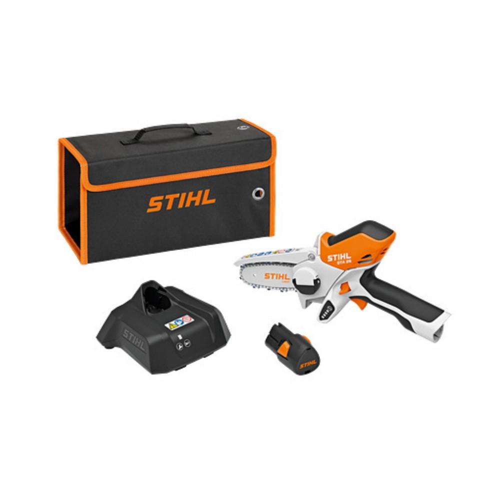 Scie À Jardin Gta 26 Avec Batterie + Chargeur Stihl tout Outillage Jardin Stihl