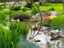 Sculpture De Jardin Ronde - Anneaux De Fer Concentriques serapportantà Jardin Zen Belgique