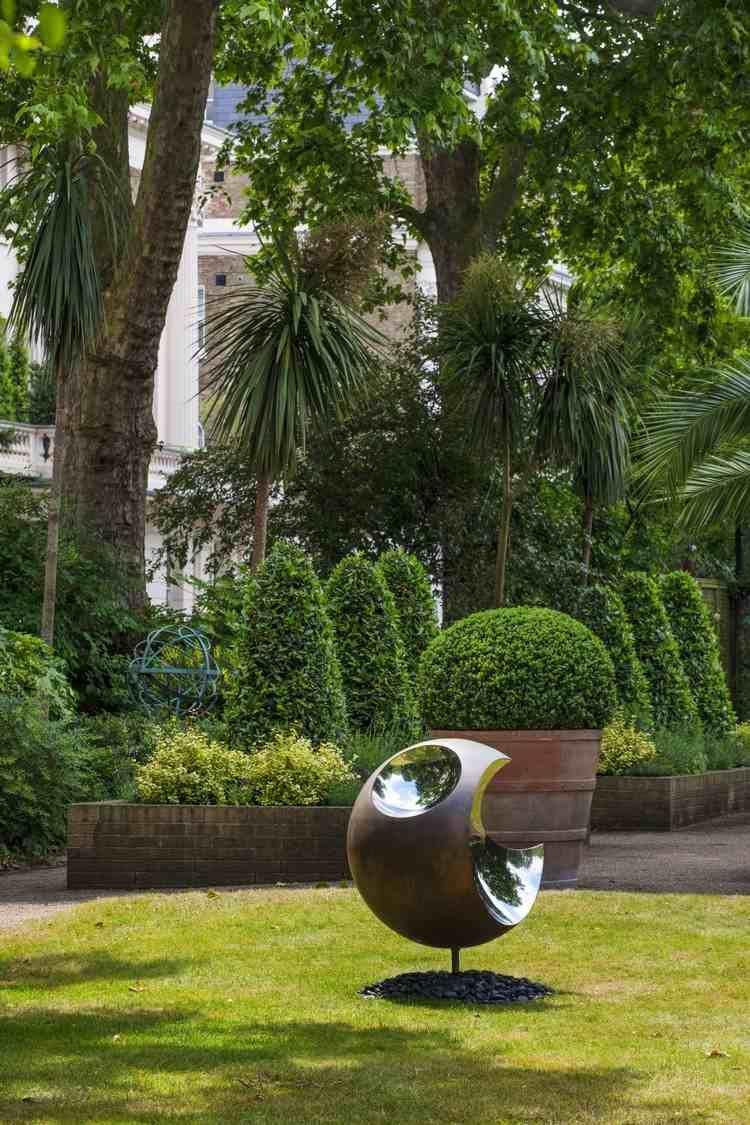 Sculpture Moderne Pour Donner Un Souffle De Vie Au Jardin ... encequiconcerne Sculpture Moderne Pour Jardin