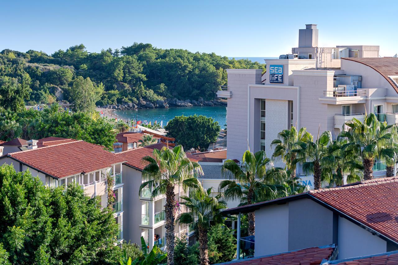 Sealife Buket Resort & Beach Hotel, Okurcalar, Turkey ... tout Delimitation Jardin