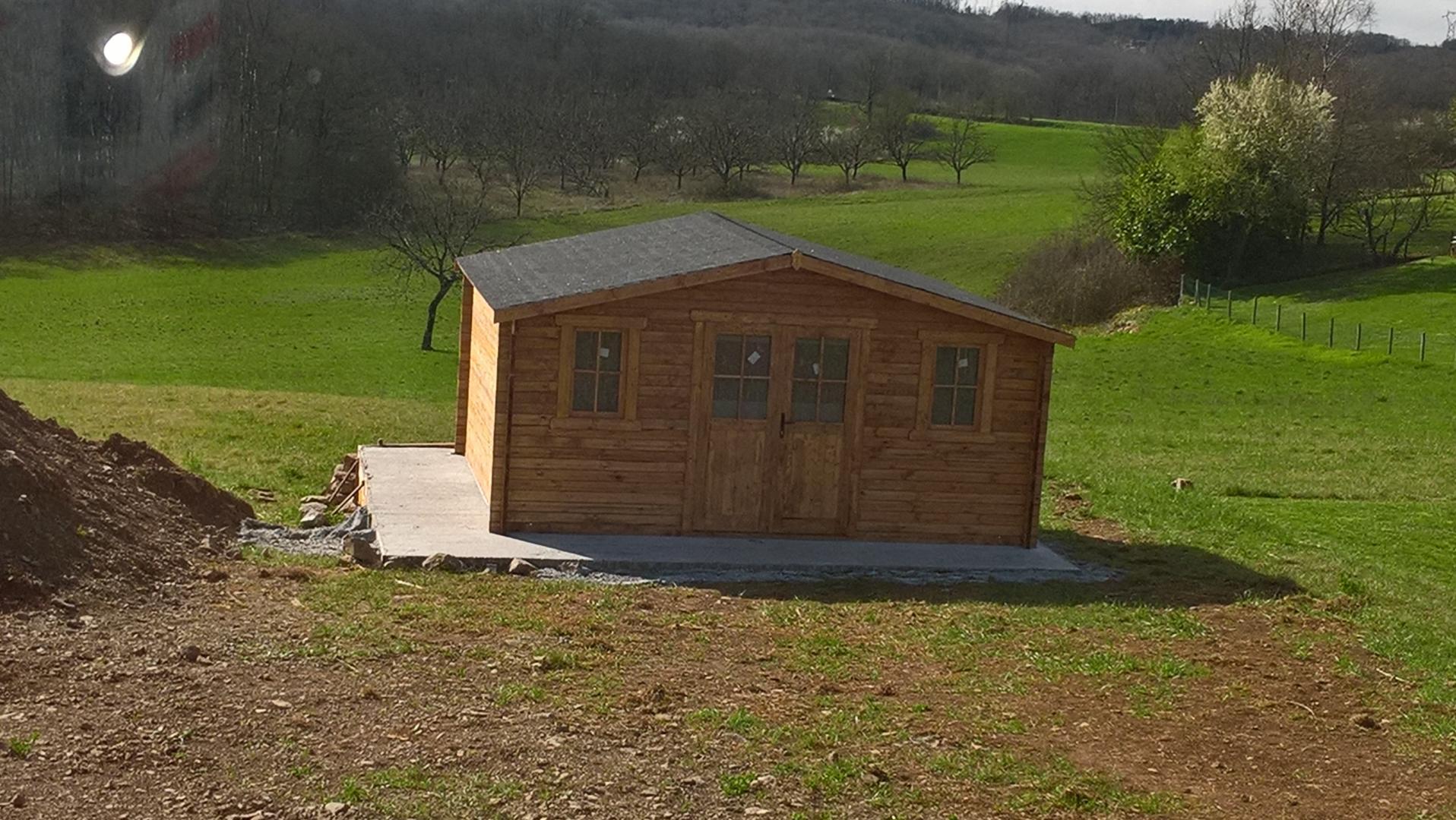 Sélection Premium 44E54 F4Eb3 Abri De Jardin Habitable 20M2 ... intérieur Abri De Jardin Habitable