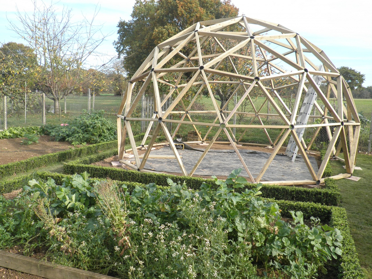 Serre avec Fabriquer Une Serre De Jardin
