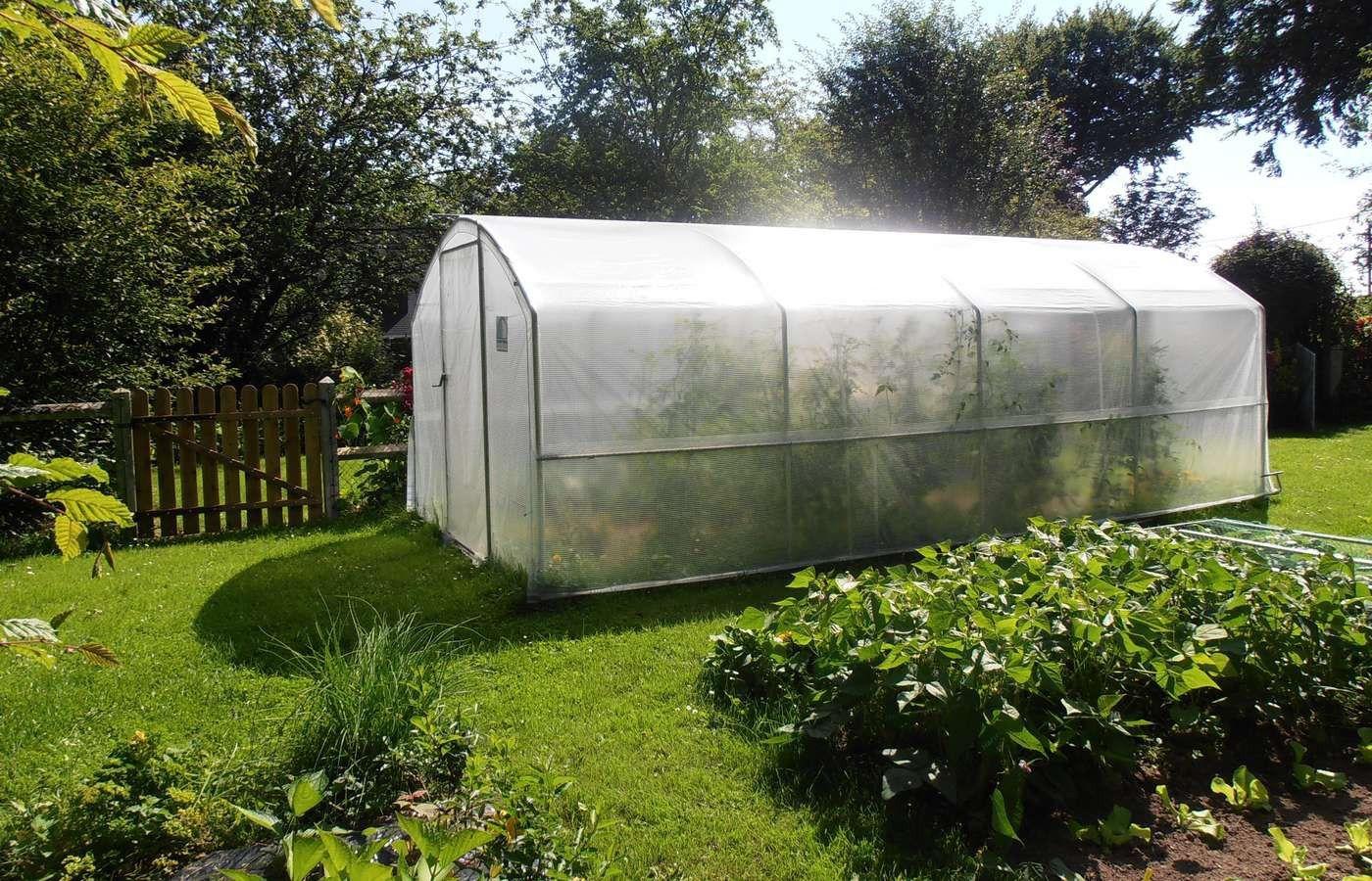 Serre De Jardin 4 Saisons 18M2 + Kit Manivelles - Decouvrez ... concernant Serre De Jardin 18M2