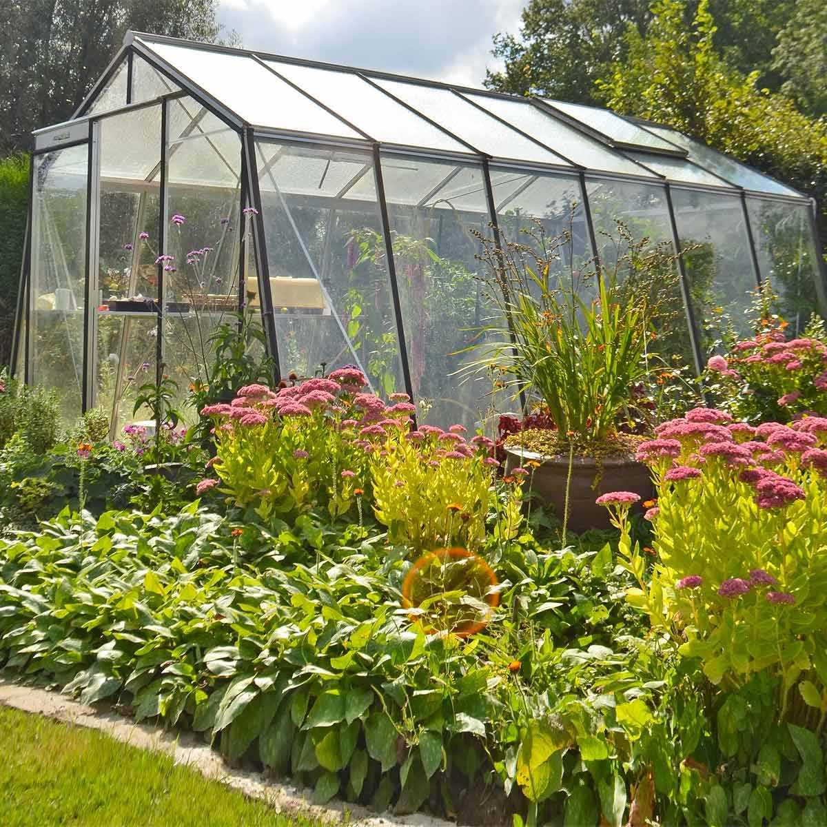 Serre De Jardin Acd Prestige Paroi Oblique tout Promo Serre De Jardin En Verre