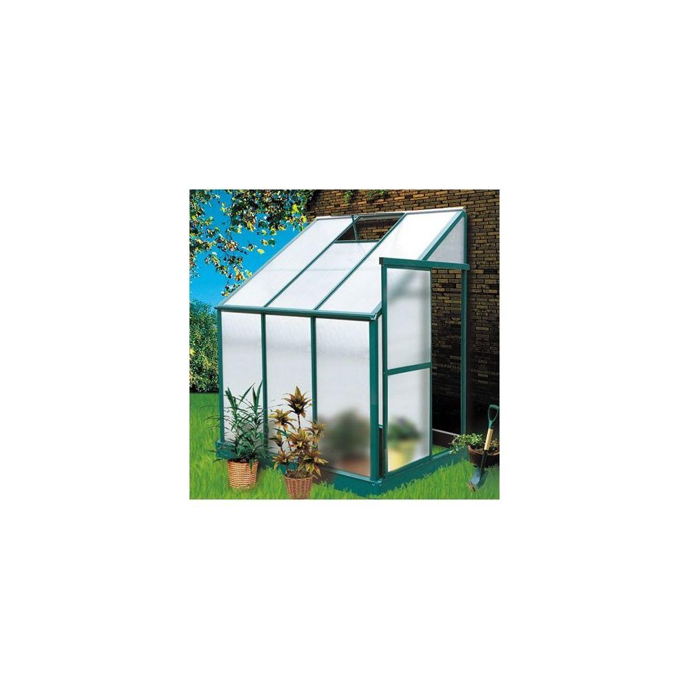 Serre De Jardin Adossée 2,97M² Iris En Polycarbonate - Lams dedans Serre De Jardin Adossée