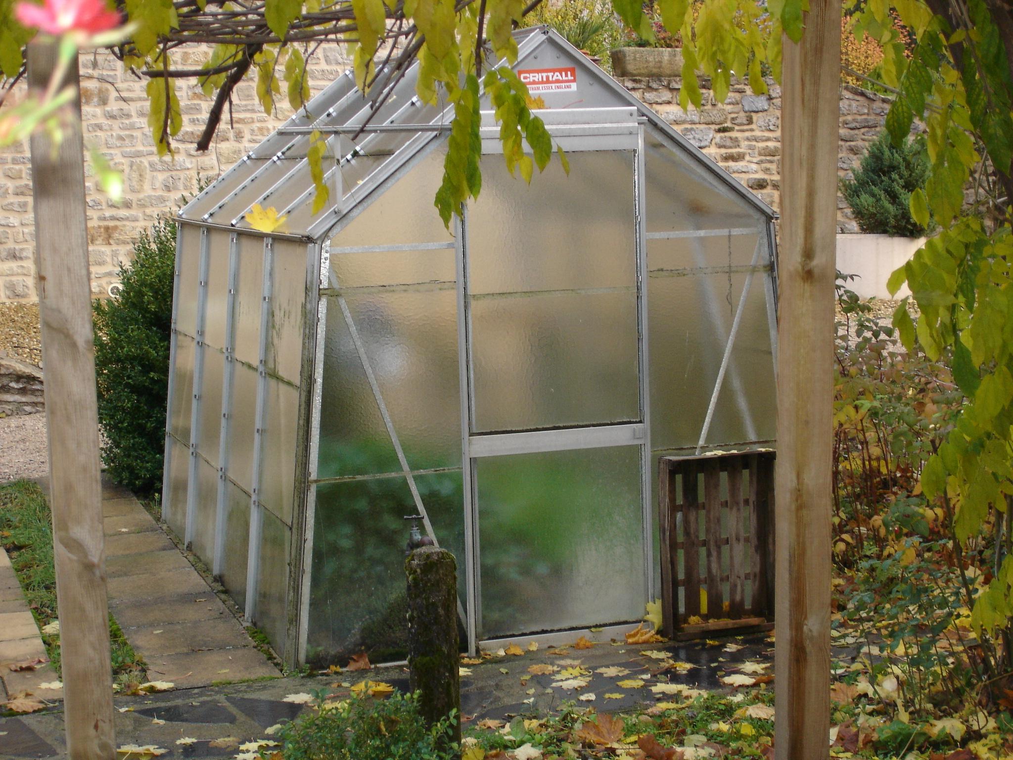 Serre De Jardin Adossee Sur Mesure Dbg Classics   Serre De ... encequiconcerne Serre De Jardin Occasion
