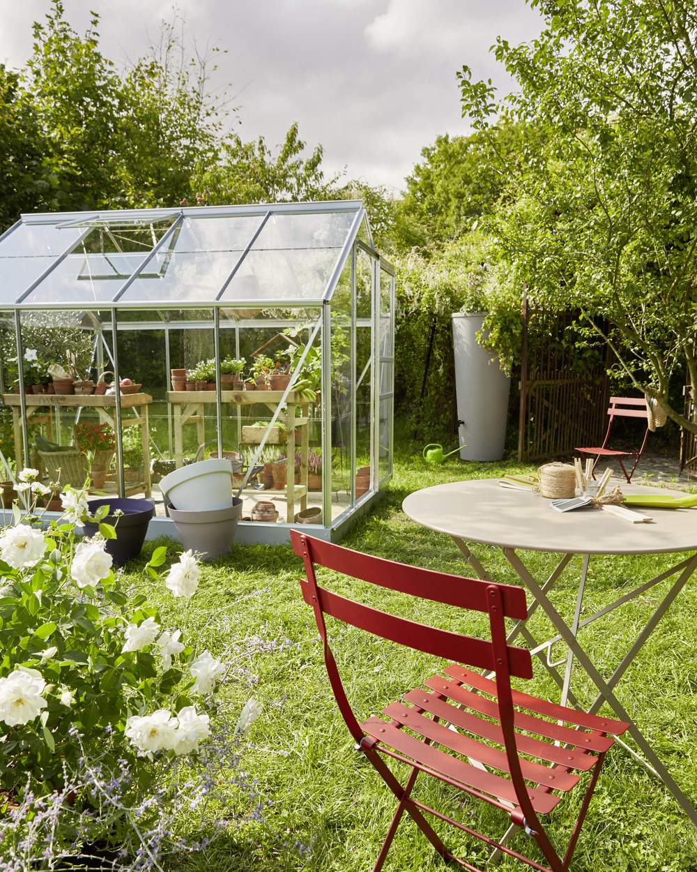 Serre De Jardin Adossee Sur Mesure Dbg Classics | Serre De ... encequiconcerne Serres De Jardin Castorama