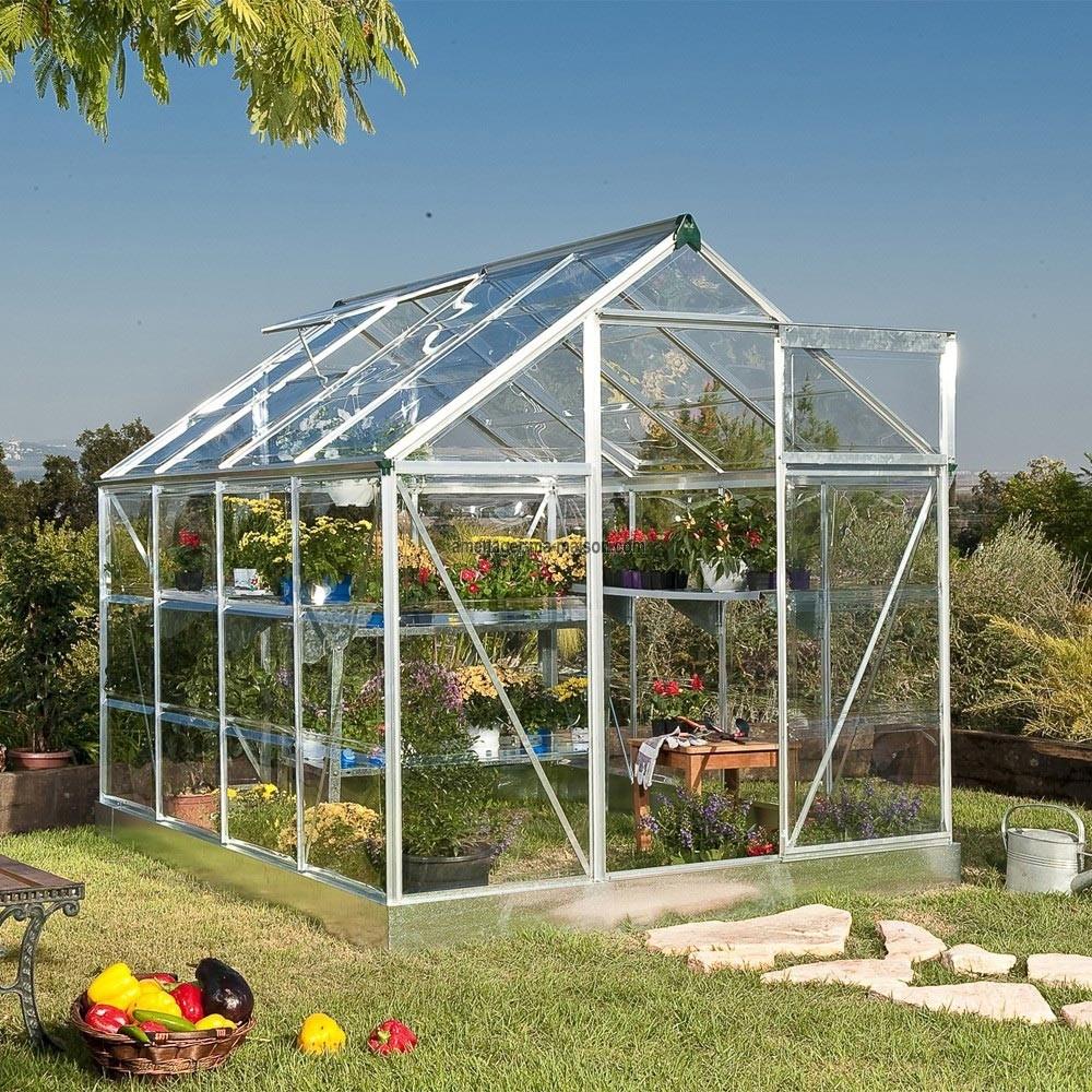 Serre De Jardin Adossee Sur Mesure Dbg Classics | Serre De ... intérieur Serres De Jardin Castorama