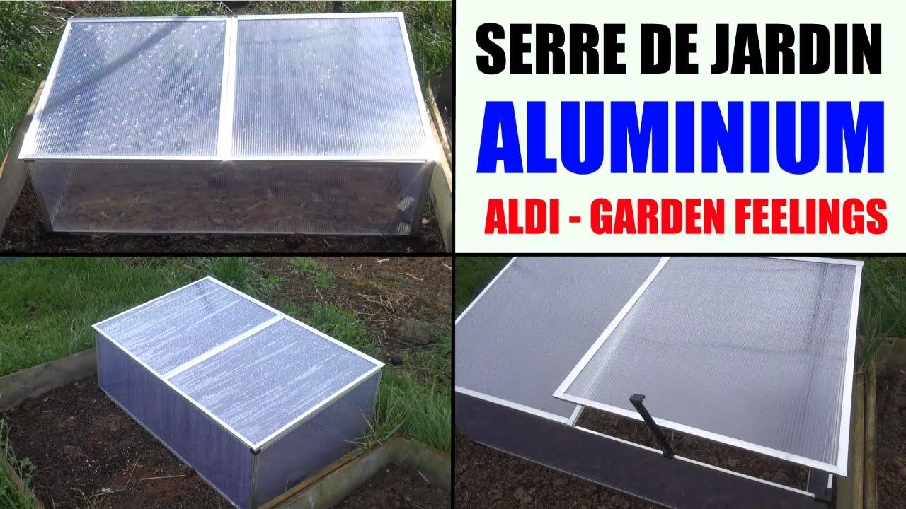 Serre De Jardin Aluminium Aldi Garden Feelings Presentation Et Test De  Température destiné Serre De Jardin Florabest