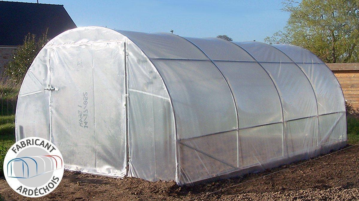 Serre De Jardin Avec Garantie 10 Ans intérieur Bache Pour Serre De Jardin