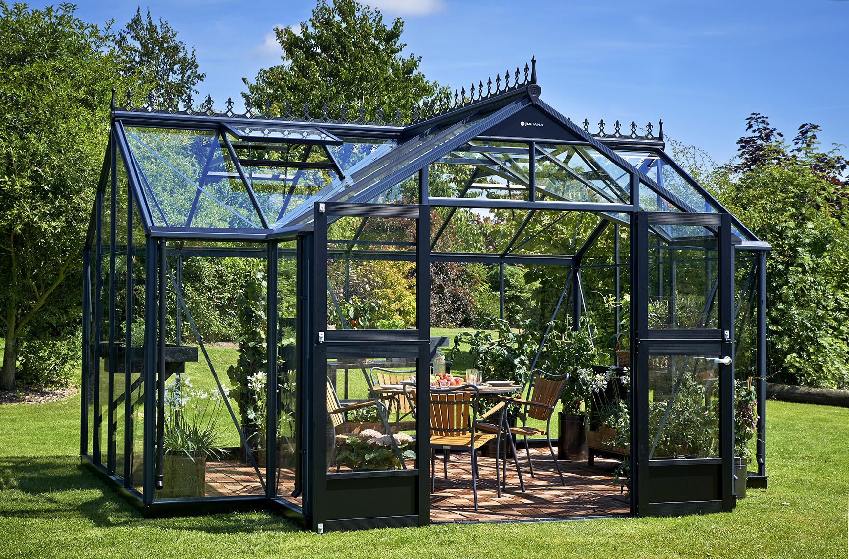 Serre De Jardin ⇒ S, Comparatif & Meilleur Serres Pour 2020 intérieur Serres De Jardin En Verre