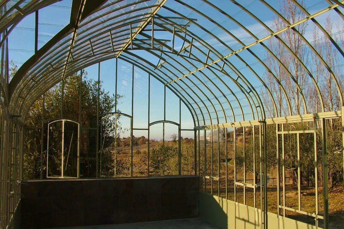 Serre De Jardin En Fer Forgé, Olive | Conservatory Garden ... dedans Serre De Jardin Fer Forgé