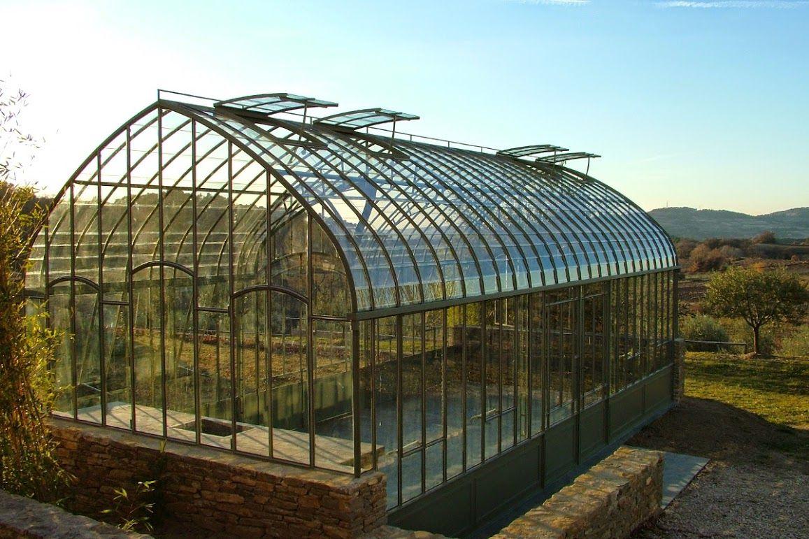 Serre De Jardin En Fer Forgé, Olive | Greenhouse Plants ... pour Serre De Jardin Fer Forgé