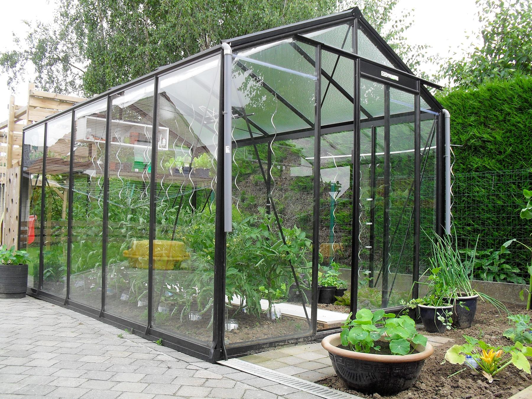 Serre De Jardin - Installation De Serre De Jardin | Paysages ... à Serre De Jardin Fer Forgé