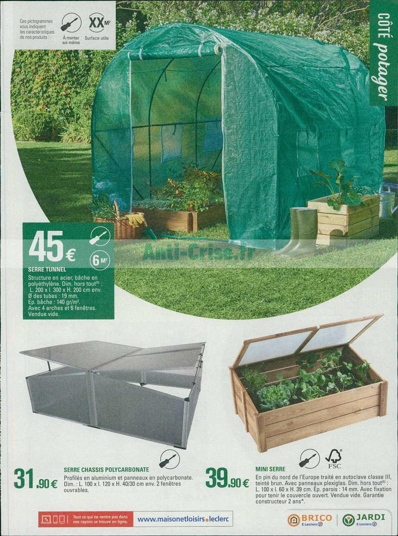 Serre De Jardin Leclerc - Canalcncarauca avec Abri De Jardin Brico Leclerc