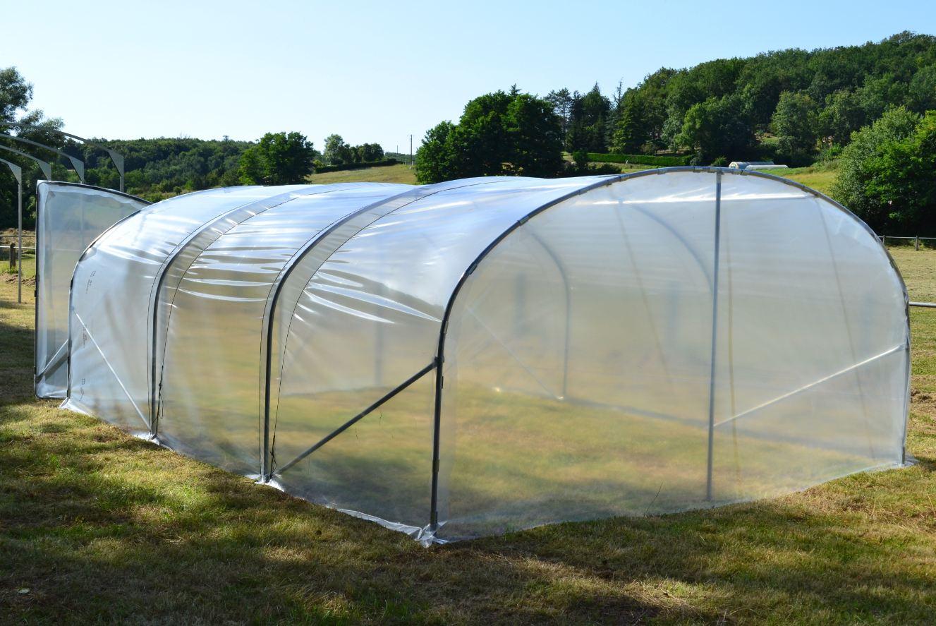 Serre De Jardin Minimax 4M / Porte Simple tout Tube Pour Serre De Jardin