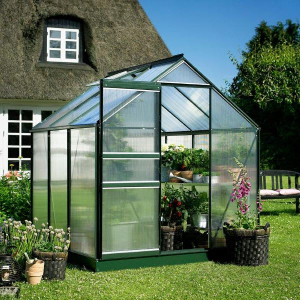Serre De Jardin Pas Cher - Petite Surface 4M2 - Popular 66 à Serre De Jardin Polycarbonate Pas Cher
