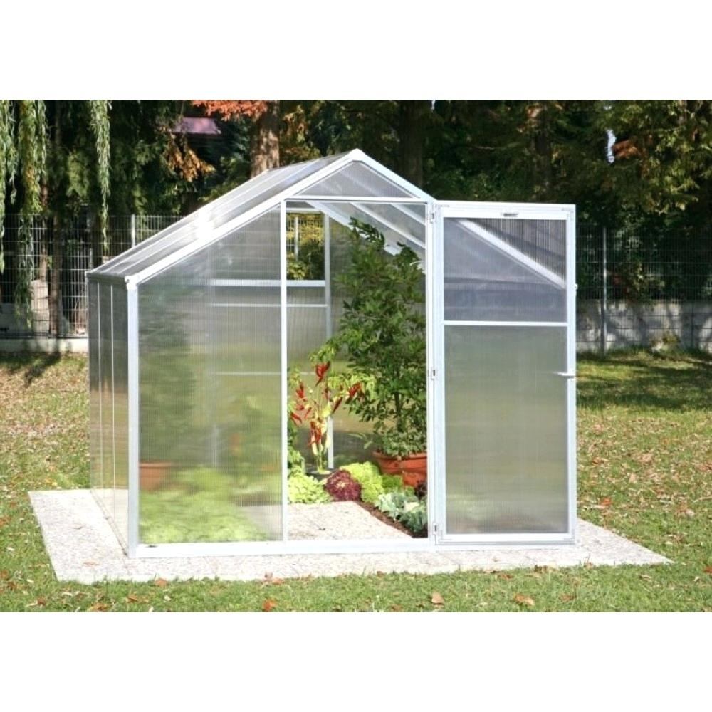 Serre De Jardin Polycarbonate 12M2 - Veranda Et Abri Jardin pour Serres De Jardin Leroy Merlin