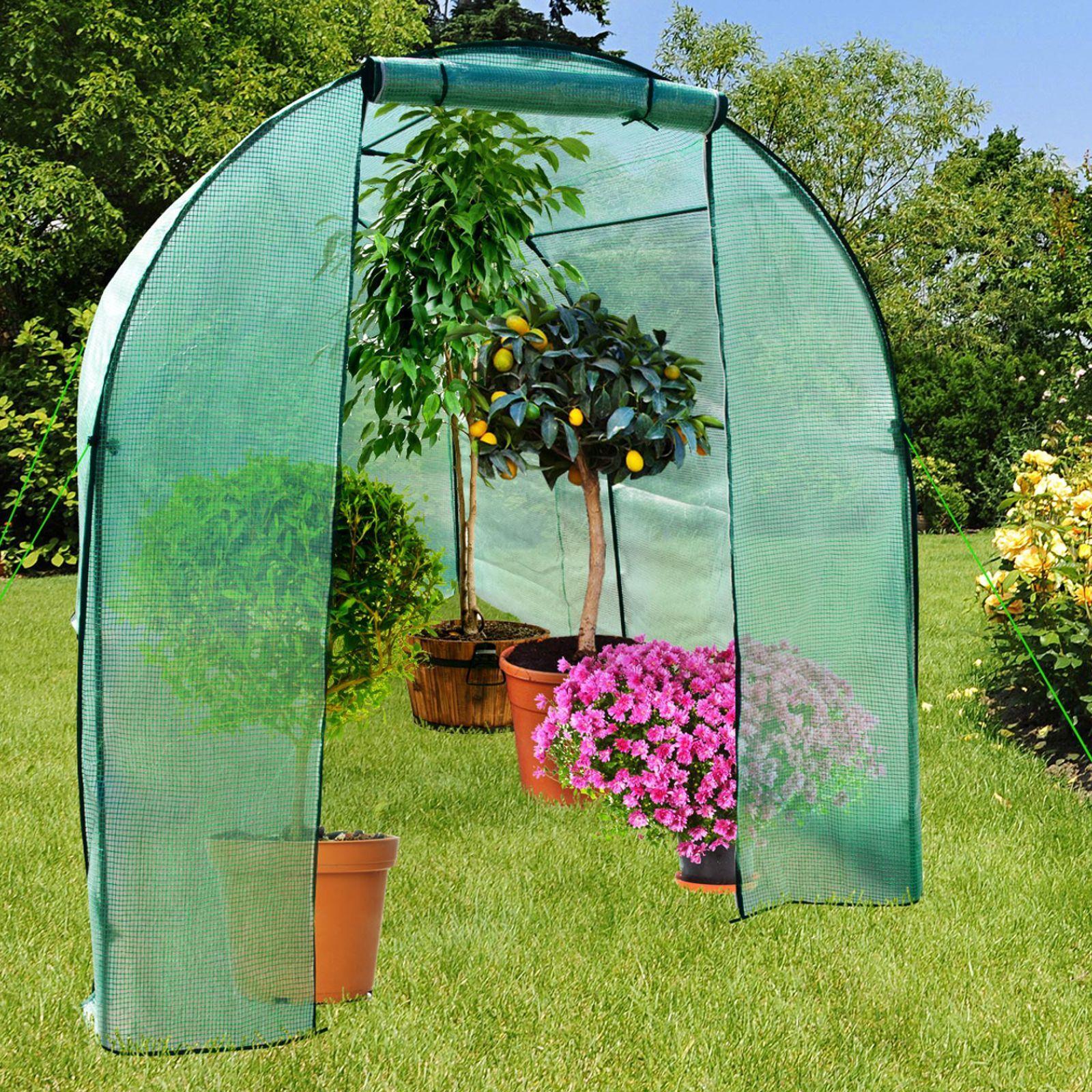 Serre De Jardin Stabilis Uv R Sistant Aux Intemp Ries Pour ... à Solde Serre De Jardin