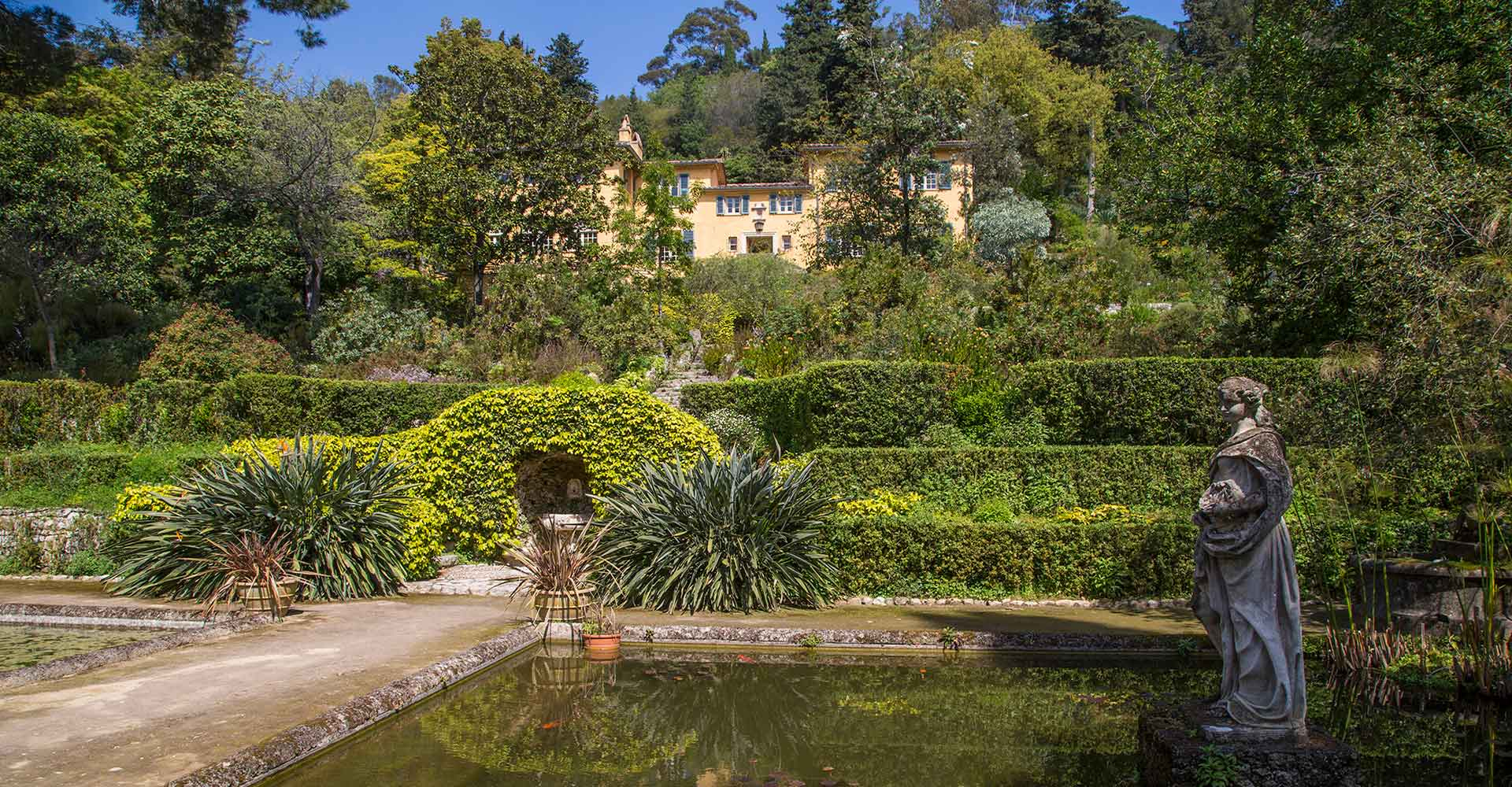 Serre De La Madone : Un Jardin Extraordinaire À Menton pour Idée De Génie Jardin