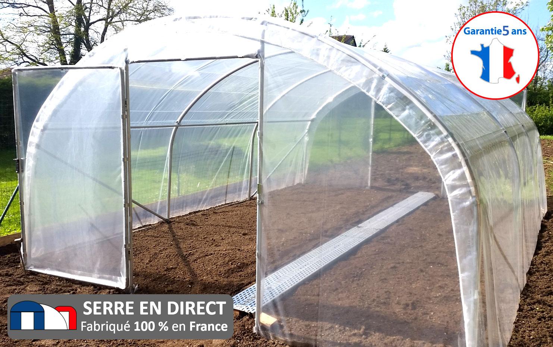 Serre En Direct - Fabricant De Serres De Jardin Et D'abris ... dedans Serre Jardin Occasion