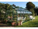 Serre En Verre Trempé Supreme Vert 11.4 M² - Halls pour Serre De Jardin Belgique