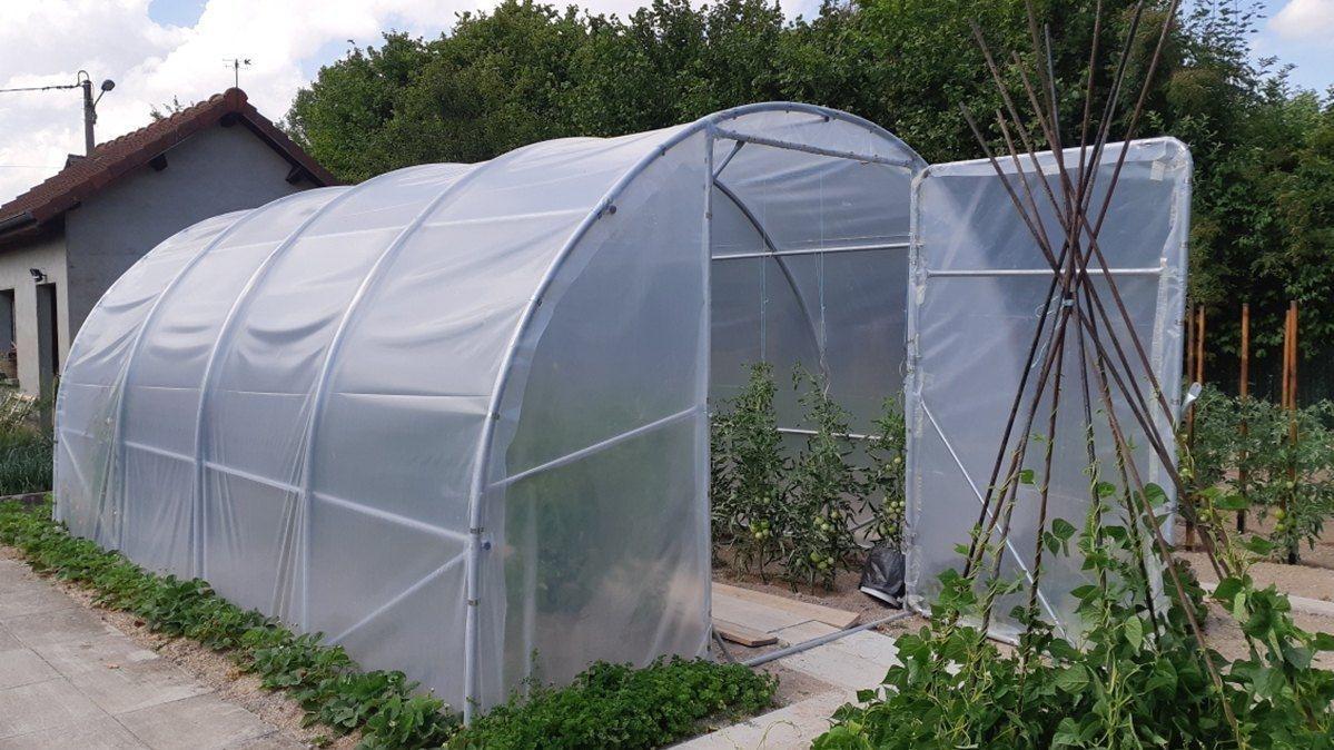Serre Jardin Fabrication 100% Française avec Tube Pour Serre De Jardin