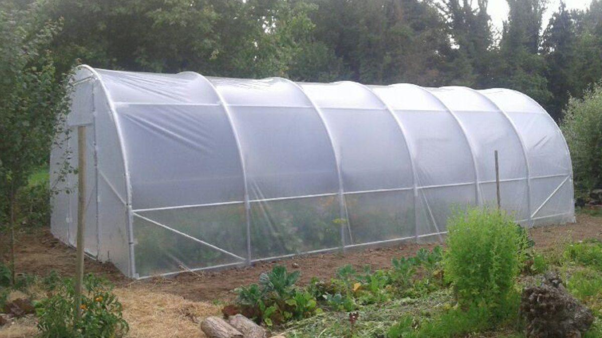 Serre Jardin Fabrication 100% Française destiné Bache Serre Jardin