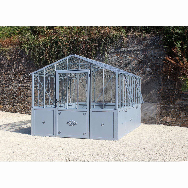 Serre Jardin Verre Beau De Polycarbonate Luxe ... serapportantà Serre Jardin Occasion