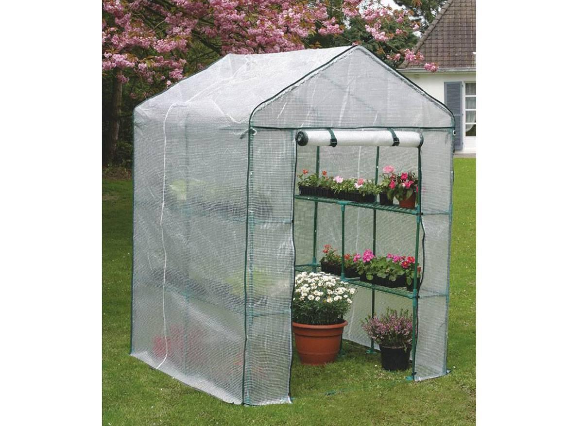 Serre Plastique Greenseason avec Serre De Jardin Pas Chere