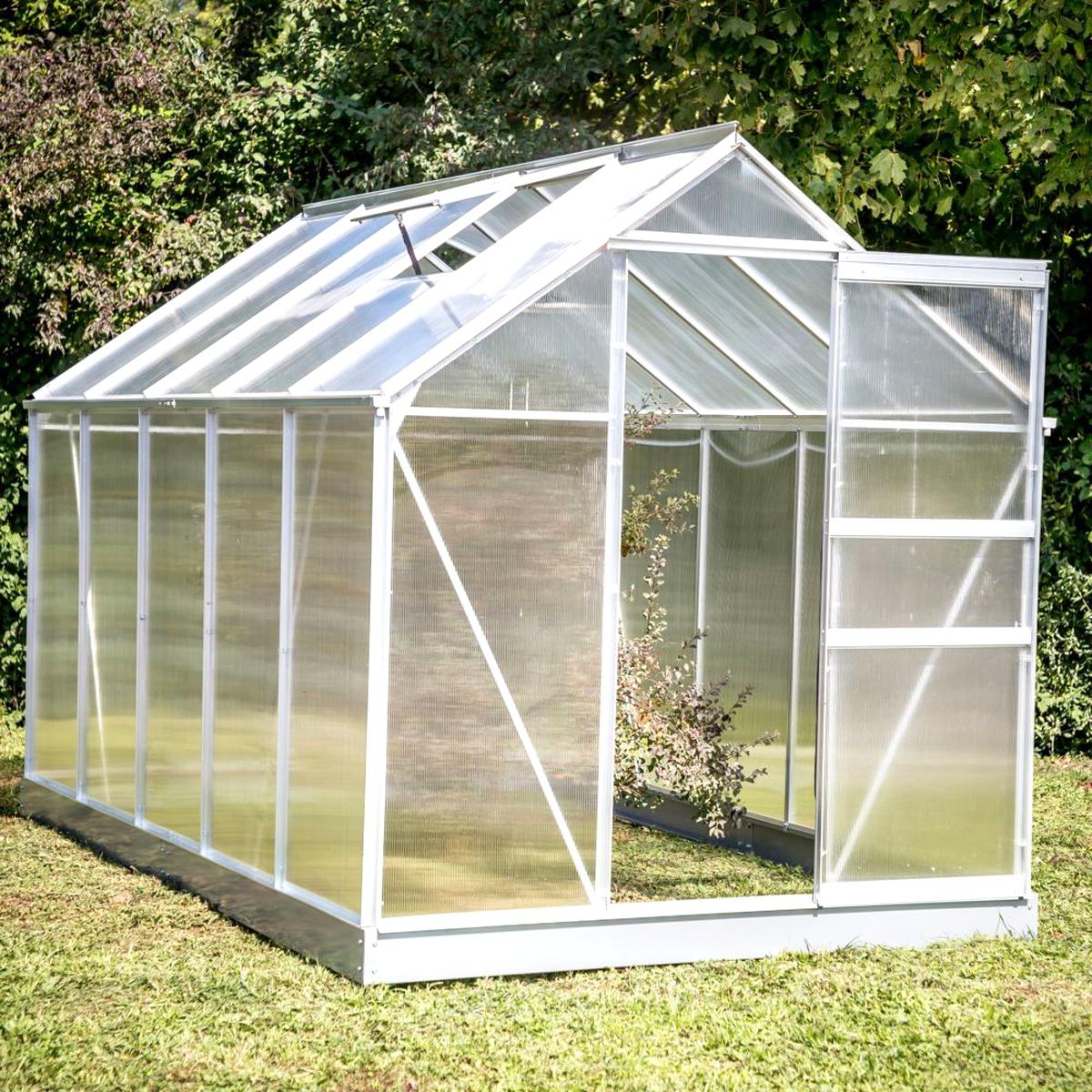 Serre Polycarbonate D'occasion concernant Serre De Jardin Occasion
