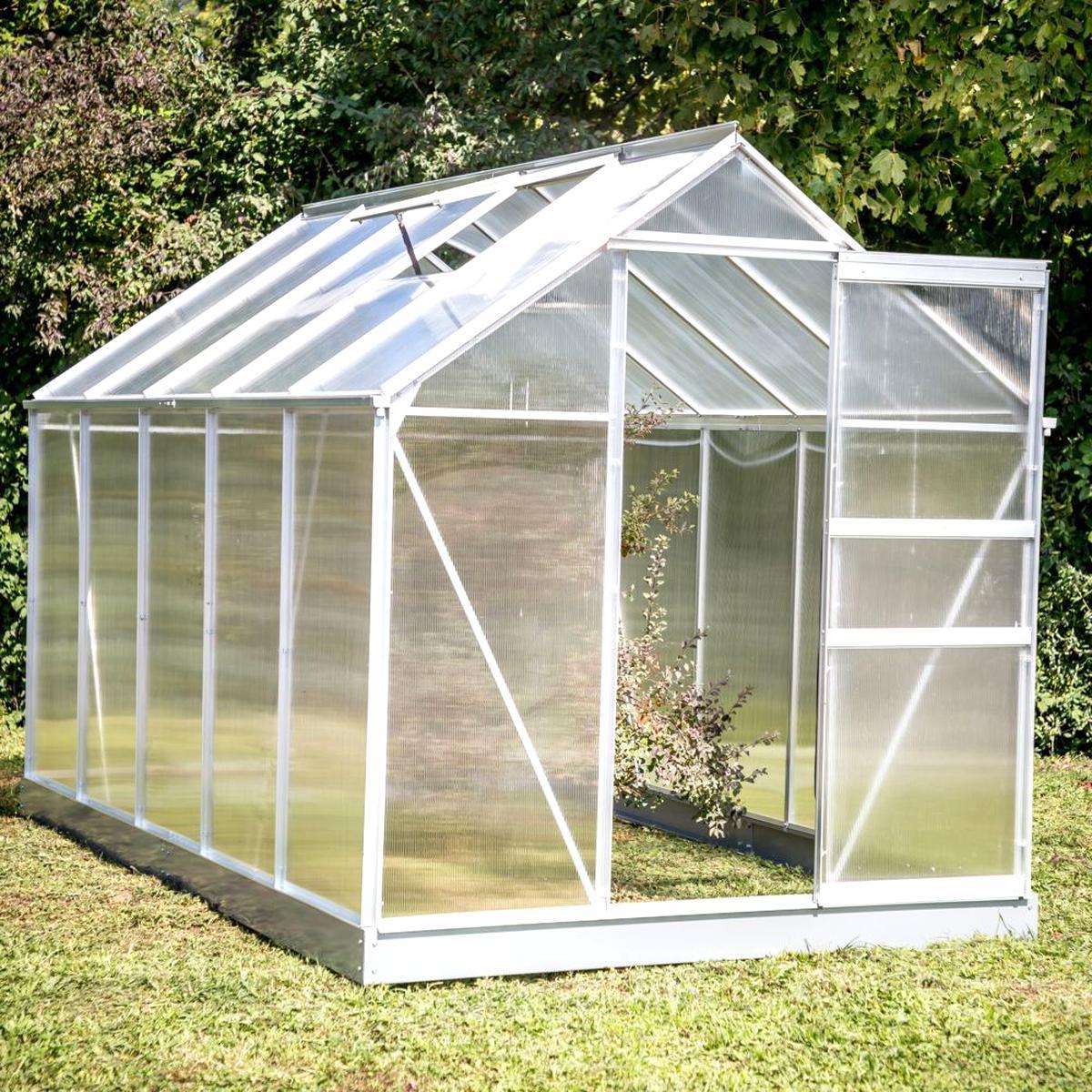 Serre Polycarbonate D'occasion destiné Serre Jardin Occasion