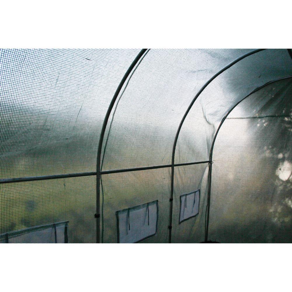 Serre Tunnel 9 M² - Habrita encequiconcerne Serre De Jardin Tunnel 9M2