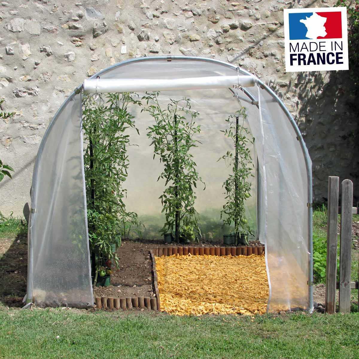Serre Tunnel De Jardin 2M X 3M - 6M2 avec Fonctionnement D Une Serre De Jardin