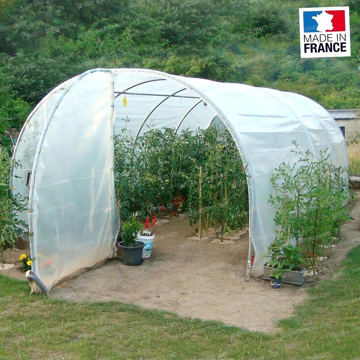 Serre Tunnel De Jardin Belgique - Veranda Et Abri Jardin à Serre De Jardin Occasion