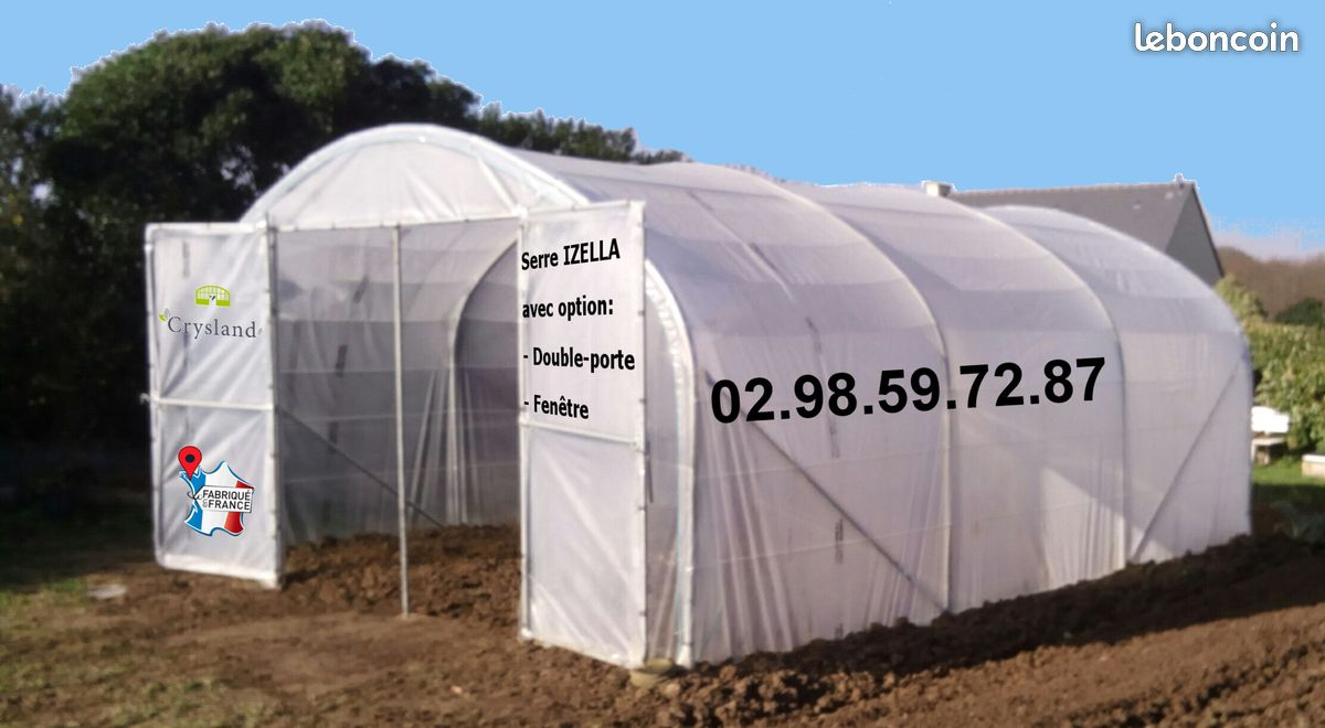 Serres De Jardin Crysland - Pro Leboncoin concernant Bon Coin Serre Jardin Occasion