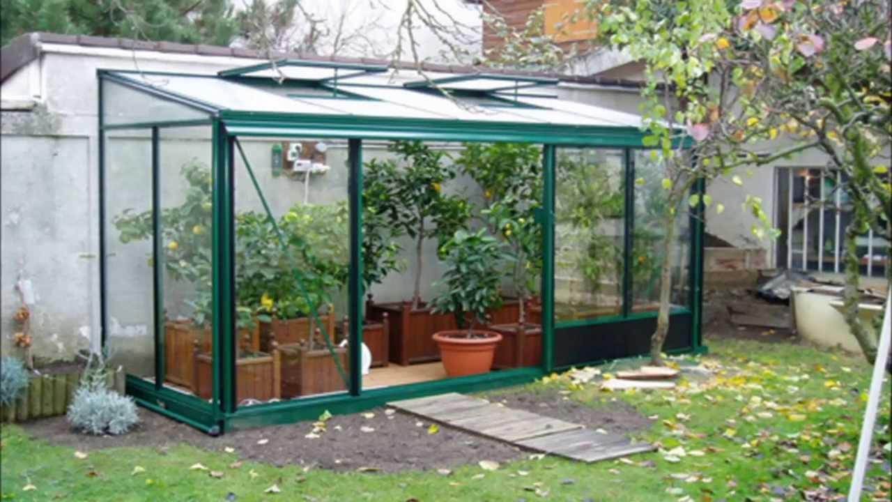 Serres De Jardin Verre Et Aluminium intérieur Serres De Jardin En Verre