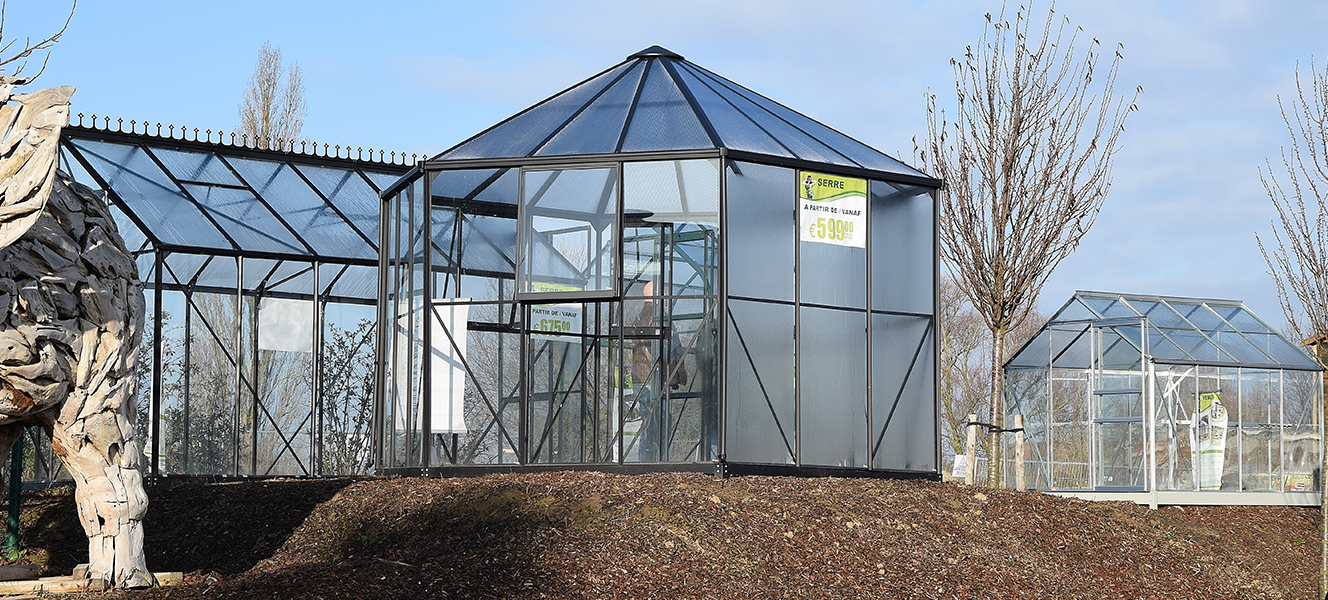 Serres - Famiflora intérieur Serre De Jardin Belgique