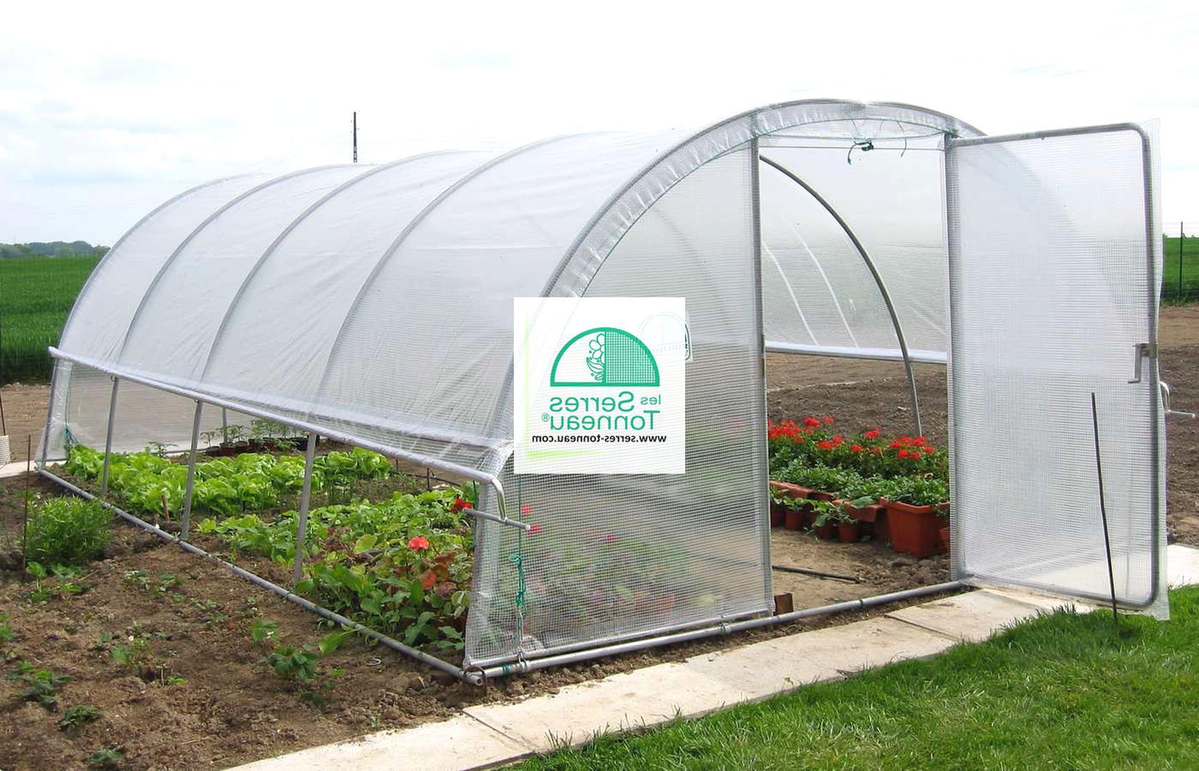 Serres Tonneau D'occasion | Plus Que 3 À -75% pour Serre De Jardin Occasion Le Bon Coin