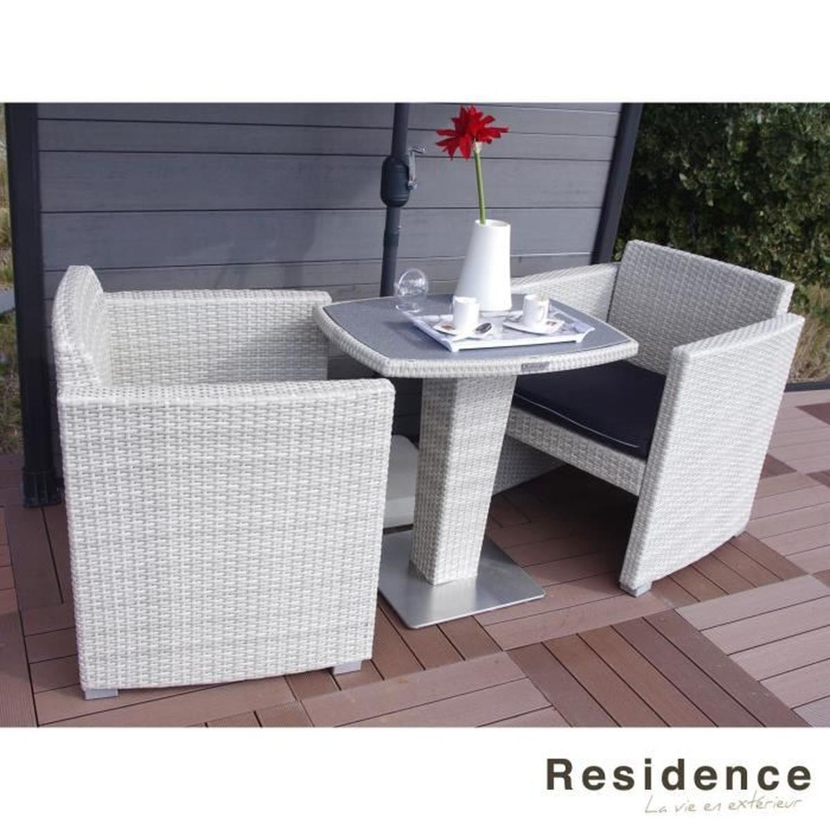 Set Balcon Repas Dolce Oceane - Achat / Vente Ensemble Table ... concernant Cdiscount Table De Jardin