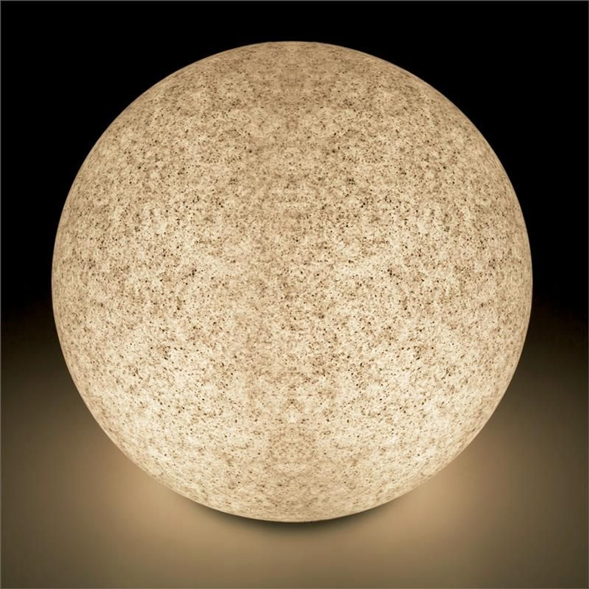 Shineball S-Xl Set 4 Boules Lumineuses De Jardin Granit ... intérieur Boules Lumineuses Jardin