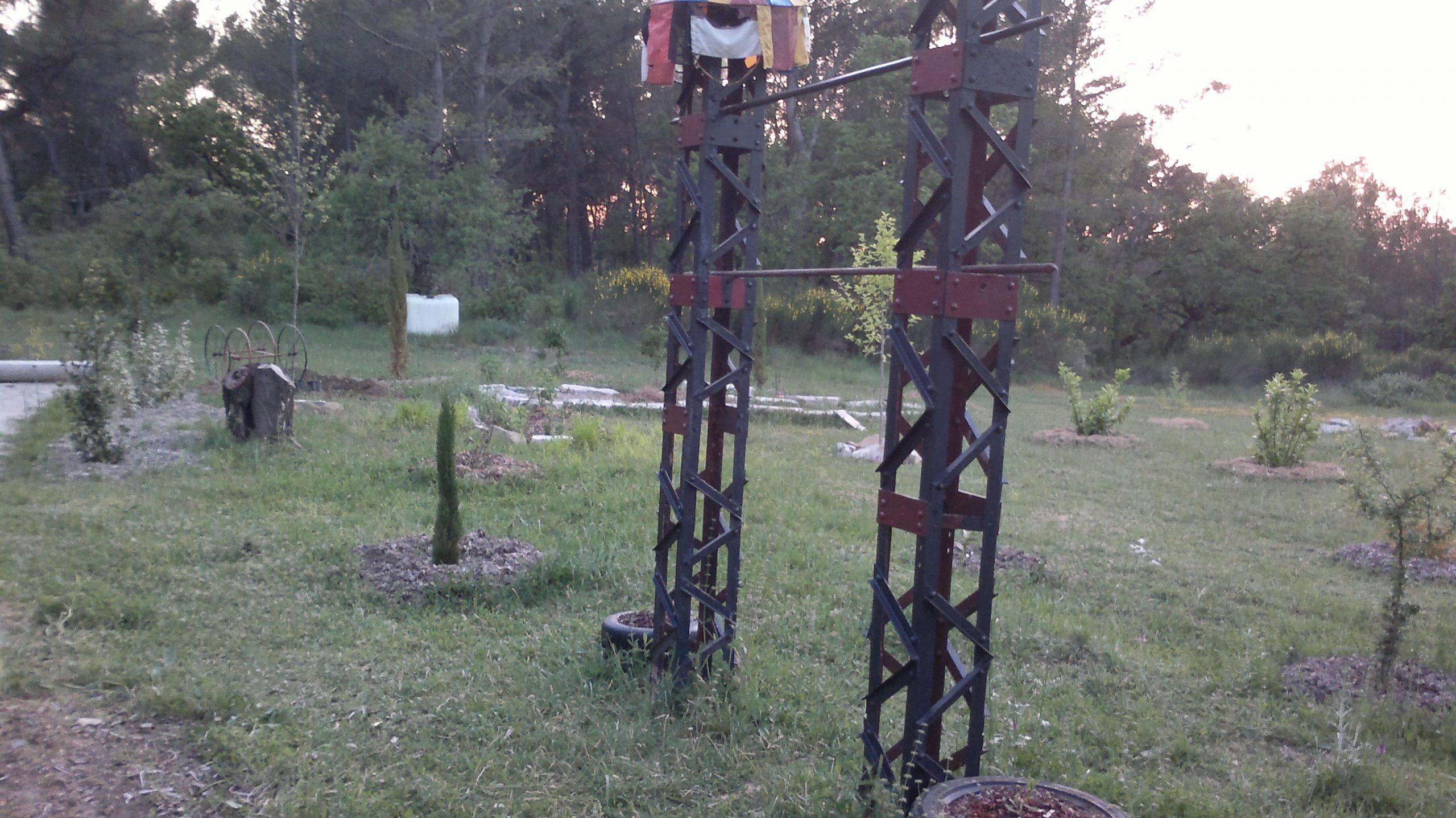 """Si Je Voulais Me Construire Un """"stand"""" De Street Workout Il ... tout Barre De Traction Jardin"""