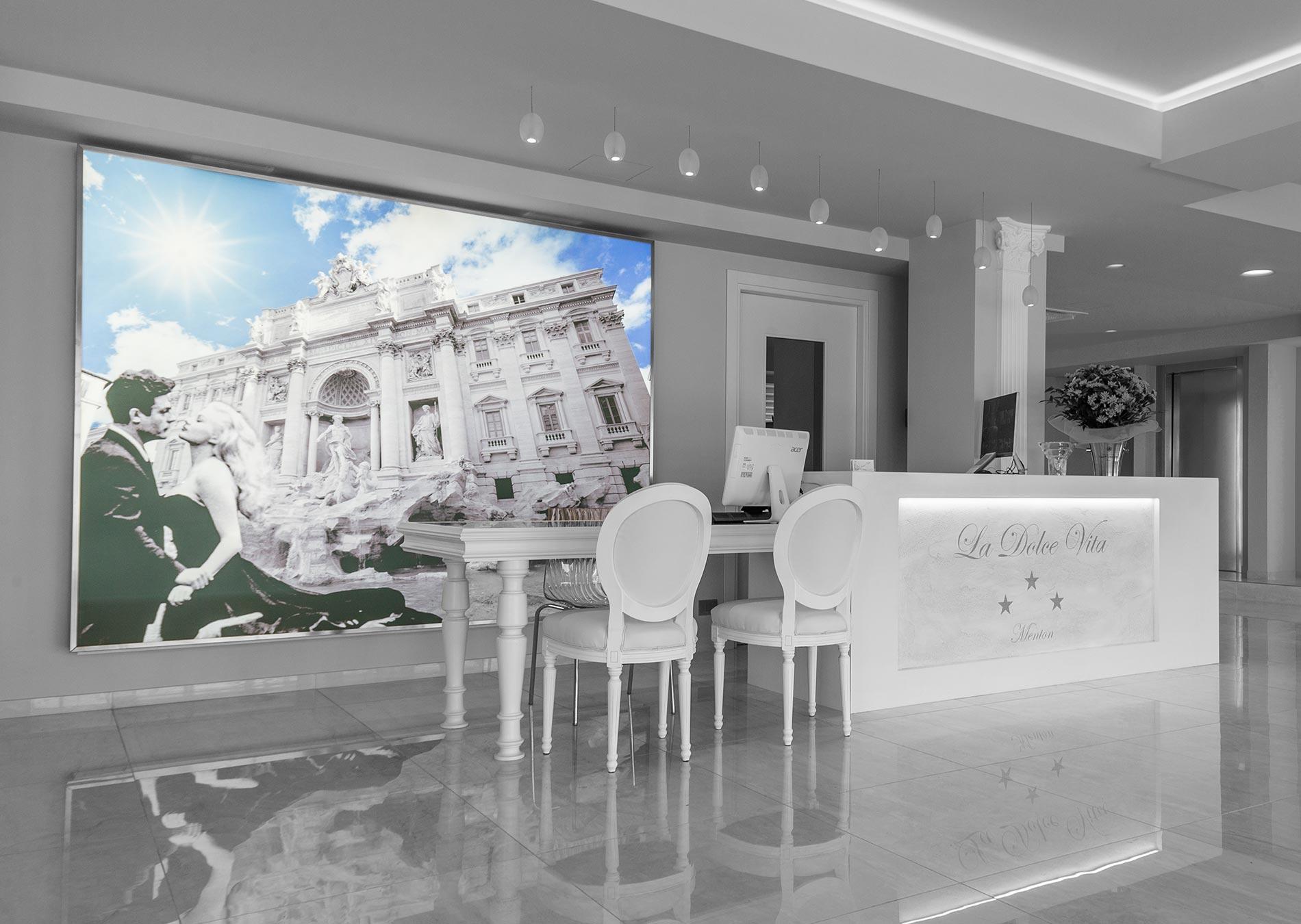 Site Officiel Hôtel La Dolce Vita Menton Monaco Cannes 06 intérieur Salon De Jardin Monaco