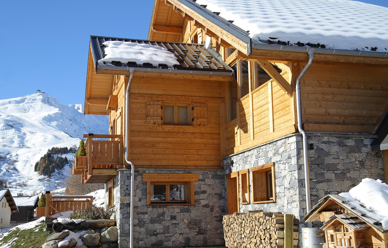Ski Chalet Le Jardin D'hiver, La Toussuire – Odalys serapportantà Chalet Le Jardin D Hiver La Toussuire