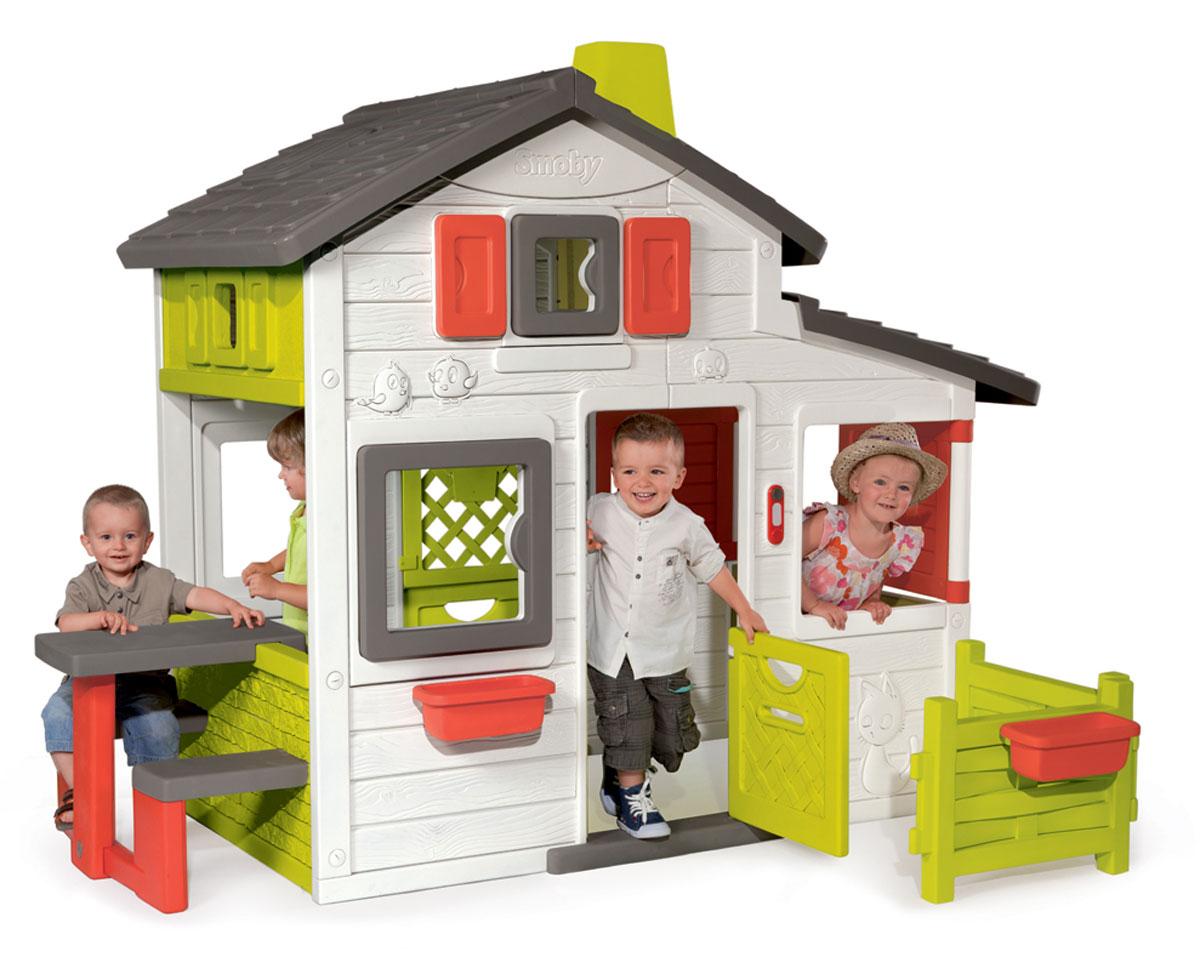Smoby Ccabane Enfant Friends House tout Cabane De Jardin Smoby