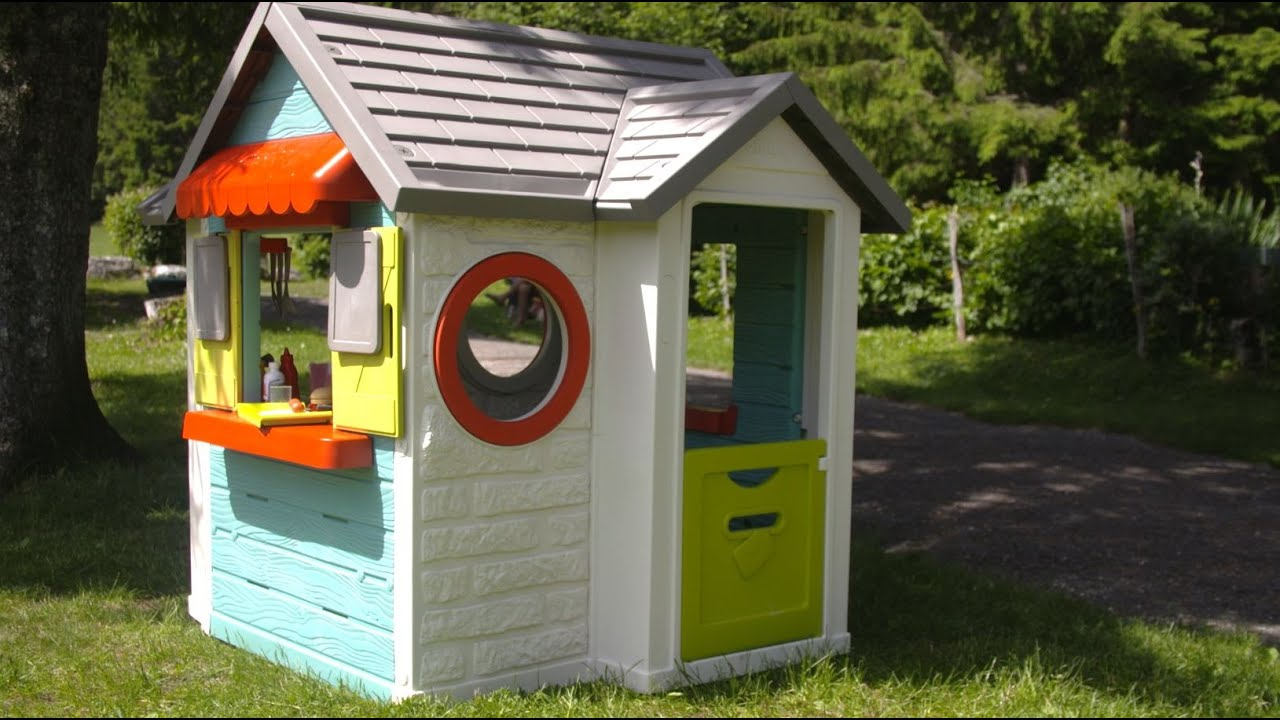 Smoby - Chef House [Fr/en] encequiconcerne Cabane De Jardin Smoby