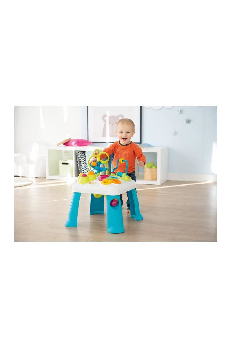 Smoby Cotoons Table D'activités - , Smoby Cotoons Table D'activités -  Multifonctions - Mixte Tati.fr tout Maison Jardin Smoby