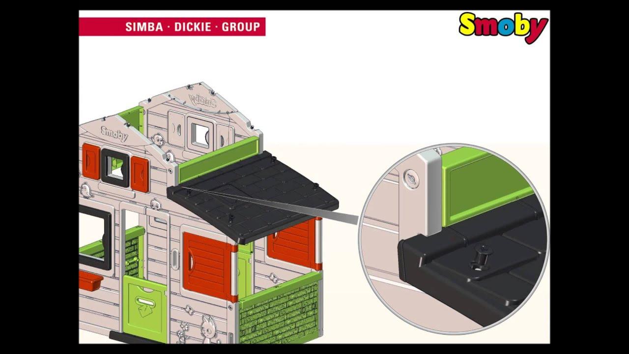 Smoby - Friends House Instruction tout Maison De Jardin Smoby