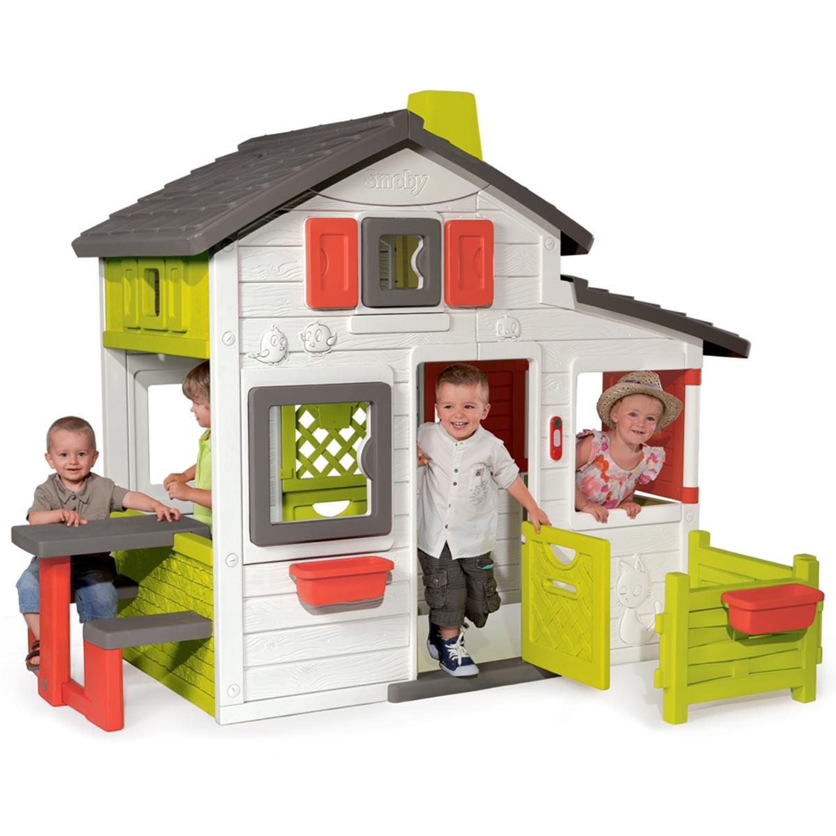 Smoby Maison De Jardin Friends House concernant Maison De Jardin Pour Enfant