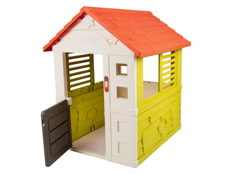 Smoby Maison De Jardin Pour Enfants | Lidl à Cabane De Jardin Smoby